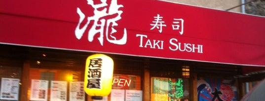 Taki Sushi is one of Lugares guardados de Woob.