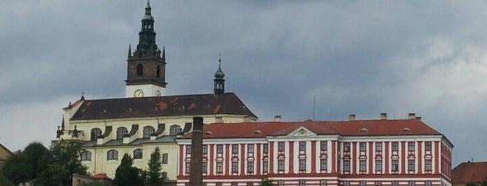 Litoměřice is one of Tempat yang Disukai Vratislav.