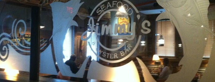 Jimmy's Seafood and Oyster Bar is one of Posti che sono piaciuti a George.