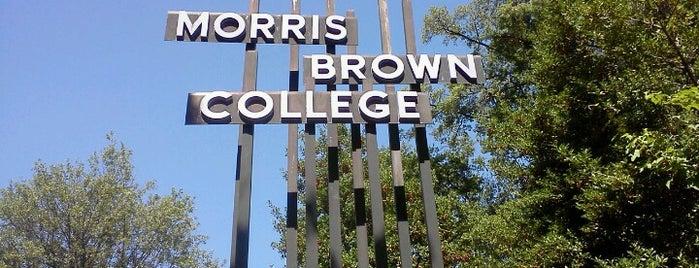 Morris Brown College is one of Atlanta History.