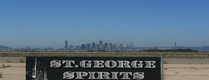 St. George Spirits is one of East Bay faves.