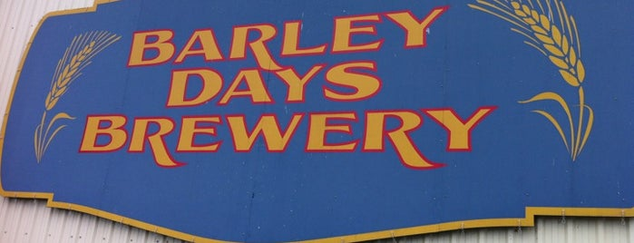 Barley Days Brewery is one of Ontario Craft Brewers.