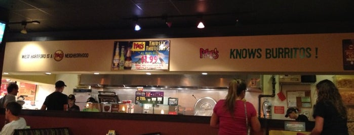 Moe's Southwest Grill is one of Non-Newington.