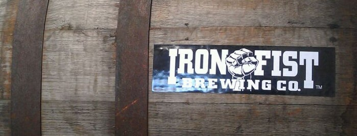 Iron Fist Brewing is one of California Breweries.