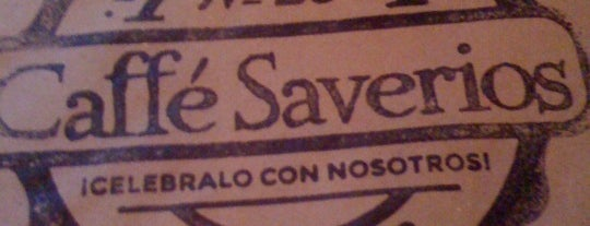 Caffe Saverios is one of Locais curtidos por Alejandro.