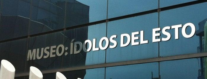 Museo ídolos del esto is one of Locais salvos de Tamara.