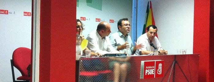 PSOE Antequera is one of Agrupaciones / Casas del Pueblo del PSOE Málaga.