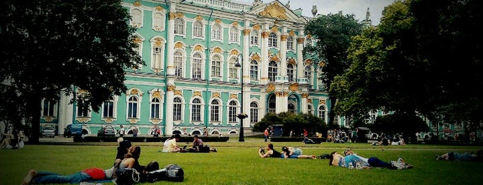 Winter Palace is one of St. Petersburg.