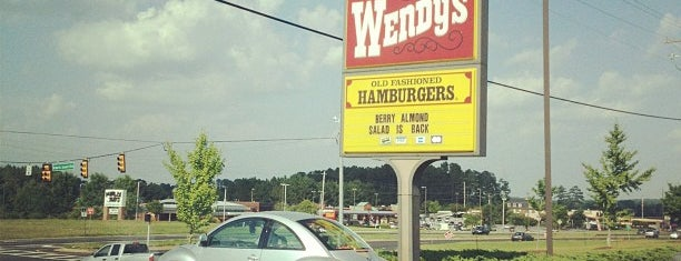 Wendy's is one of Guide to best spots in Acworth & West Cobb.