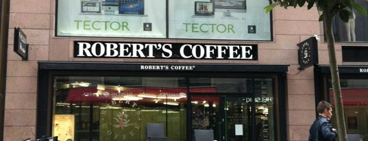 Robert's Coffee is one of Päivi's Liked Places.