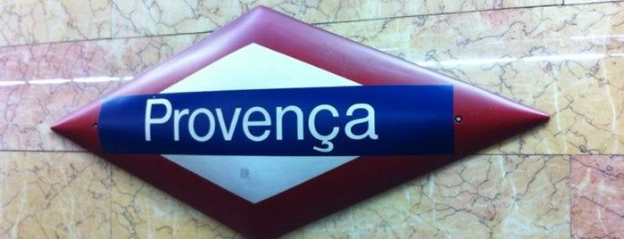 Provença Railway Station FGC is one of Went before.
