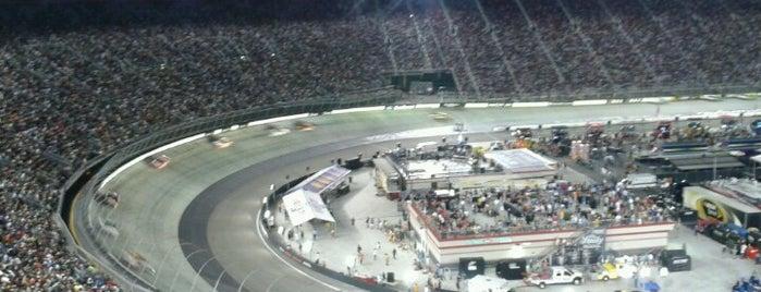 ブリストル・モーター・スピードウェイ is one of Sprint Cup Series Races.