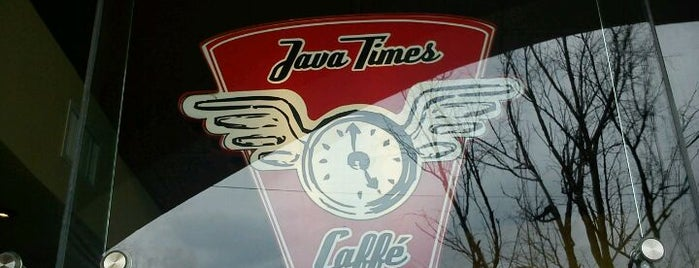 Java Times Caffé is one of Visitar Again.