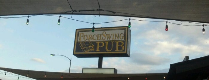 Porch Swing Pub is one of Heights + the GOOF.