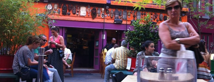 Neal's Yard Salad Bar is one of Veggie food places to try.