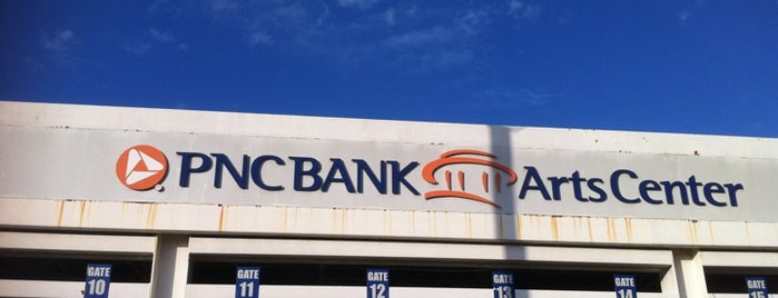 PNC Bank Arts Center is one of Topher's List of Visited Concert Venues.