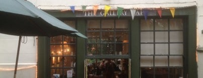 The Gallery Cafe is one of London.