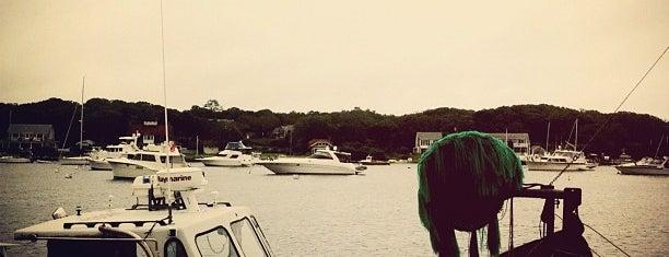 Oak Bluffs Harbor is one of MV.