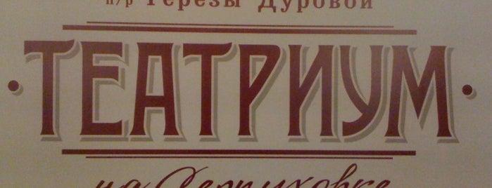 Театриум на Серпуховке п/р Терезы Дуровой is one of สถานที่ที่ Marina ถูกใจ.