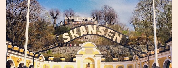 Skansen is one of Stoccolma.