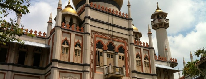 Masjid Sultan (Mosque) is one of My Singapore Trip'12.