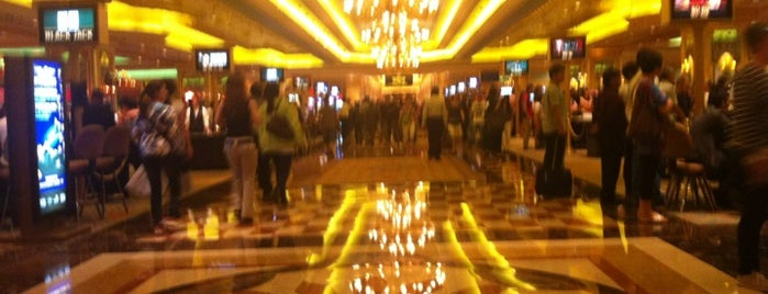 The Venetian Macao is one of CASINOS.