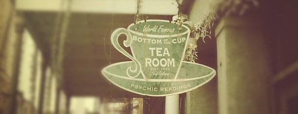 Bottom of the Cup Tearoom is one of New Orleans Adventure.