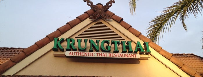 New Krung Thai Restaurant is one of Los Angeles.