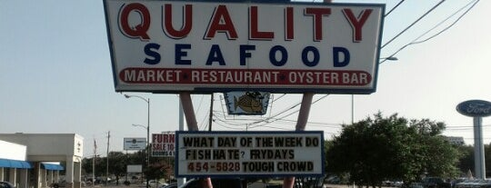 Quality Seafood Market is one of The 38 Essential Austin Restaurants, July 2012.