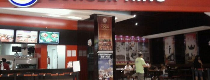 Burger King is one of Blumenau Norte Shopping.