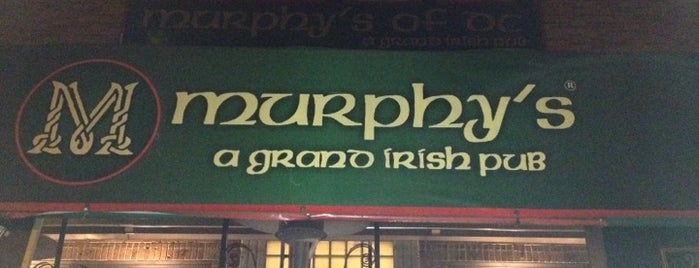 Murphy's of DC is one of Food & Fun.