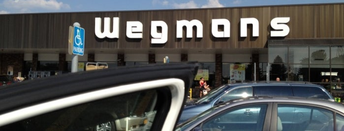 Wegmans is one of Santosh's Liked Places.