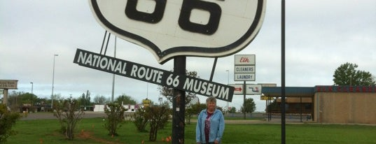National Route 66 & Transportation Museum is one of Route 66 Roadtrip.