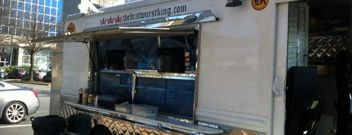 The Bratwurst King is one of Washington DC Food Trucks.
