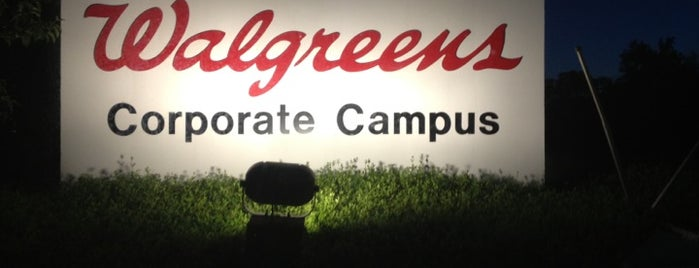 Walgreen Corporate Campus - 200 Building is one of Places I want to Go.
