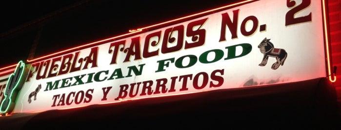Puebla Tacos #2 is one of LA eating.