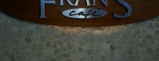Fran's Café is one of Locais curtidos por Karla.