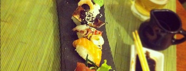 Wasabi Sushi + Wok is one of Montevideo UY.