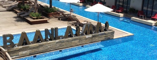 Baan Laimai Beach Resort Phuket is one of Tempat yang Disukai Sabrina.
