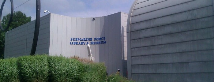 Submarine Force Library & Museum is one of New Englandish.