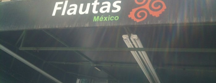 Flautas Mexico is one of Lugares guardados de Aline.