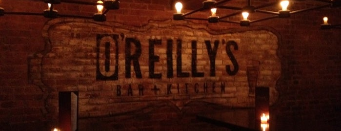 O'Reilly's is one of Bars. Just a list of bars..
