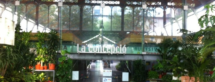 Mercat de la Concepció is one of Barcelona Coffee With Wifi.