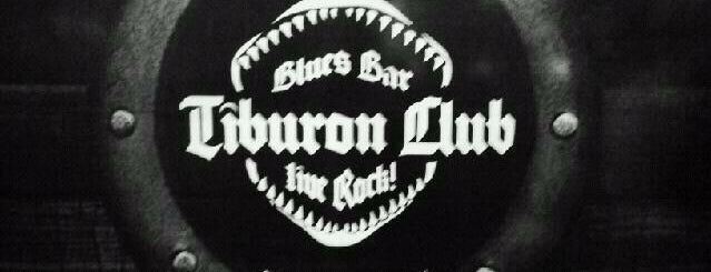 Tiburon Club Blues & Bar is one of Locales Rock.