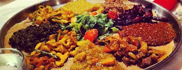 Demera Ethiopian Restaurant is one of Where to Eat on International Women's Day.