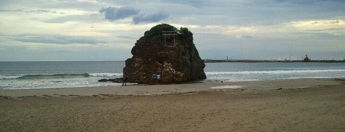 稲佐の浜 is one of 日本の渚百選.