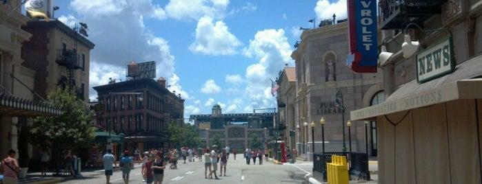 Streets Of America is one of Walt Disney World.