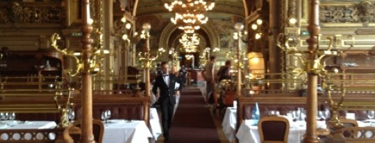 Le Train Bleu is one of Paris Parry.