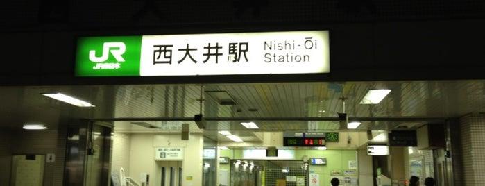 Nishi-Oi Station is one of Locais curtidos por Masahiro.
