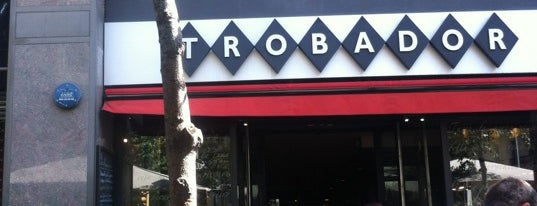 Trobador is one of Barcelona.